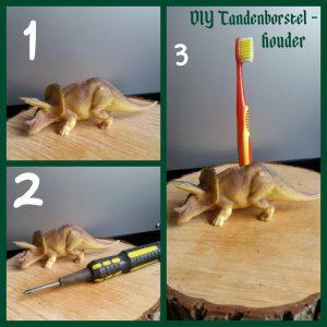 tandenborstelhouder, tanden, borstel, tandenborstel, dinosaurus, dino, batboy, DIY