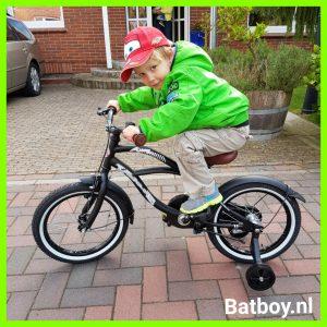 fiets, verjaardag, batboy, cadeau