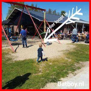 Sten, batboy, speeltuin de morskieft