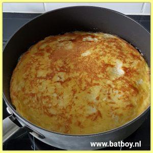 ei, pannenkoek, variatie, batboy, aardappelpannenkoek, bereidingswijze, eierpannenkoek, weekend, weekend hap, makkelijk, snel, gezond, koken, kinderen, aardappelpannenkoek