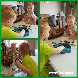 broertjes, broers, samen spelen, spelen, delen, ruzie maken
