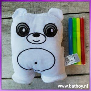 doodle buddy, beer, action, uitwasbare stiften, batboy, knuffel, knuffelbeer, kleuren