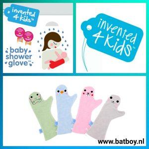 batboy, mamablog, baby shower glove