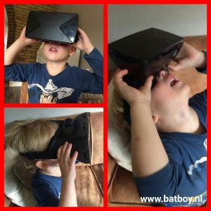 VR bril, bril, smartphone, dino, actie, ah, virtual reality bril