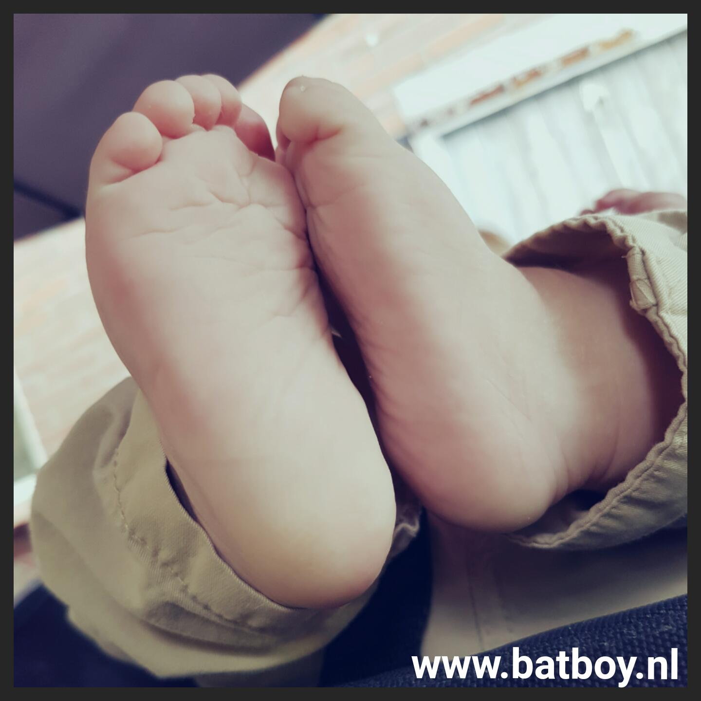 blote voeten, mamablog, batboy