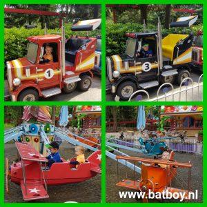 dreumesland, avonturenpark hellendoorn, pretpark, vliegtuig, vrachtwagen