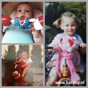 speelgoed van vroeger, roze panter, hobbelpaard