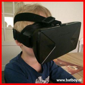 Virtual reality bril, mamablog, batboy