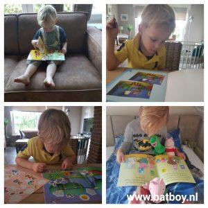 kinderplezier, dol op boeken, ontwikkeling, batboy, voorlezen, lezen, boek, kinderboek, boeken, kinderboeken, plezier