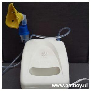 inhalator, batboy, benauwd, astma, bronchitis, astmatische bronchitis, ziekenhuis,