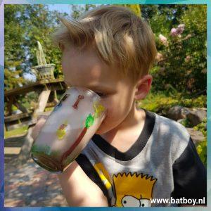 drinken, batboy, glas, drinkglas, glasverf, batboy, action, verf, verven, jammer, klaar voor gebruik