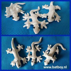 Hagedis, batboy, klei, knutselen, Foam Clay