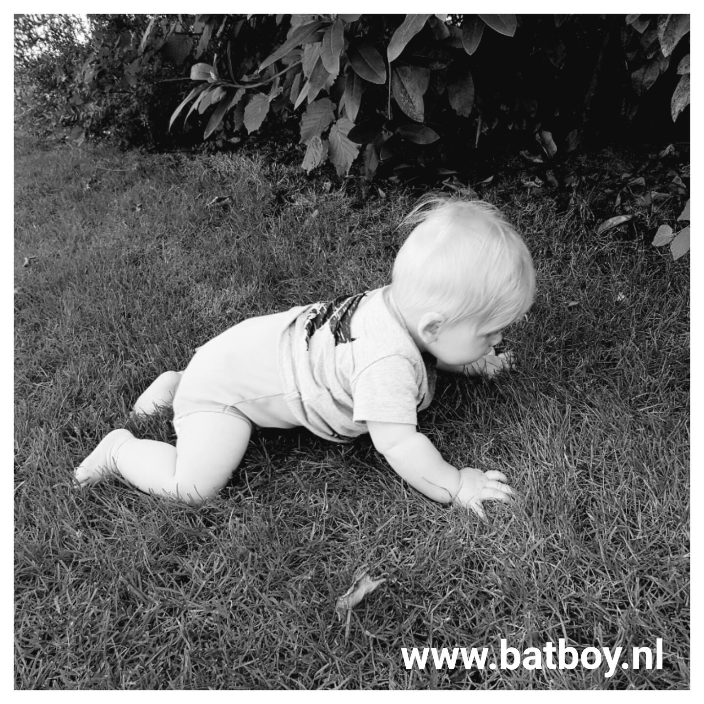 mamablog, batboy, zelfstandig zitten, 7 maand