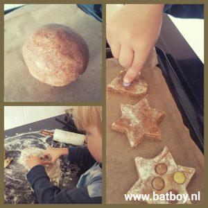 Zandkoekjes, bakken, zelf maken, kinderen, batboy, recept