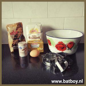 Zandkoekjes, bakken, zelf maken, kinderen, batboy