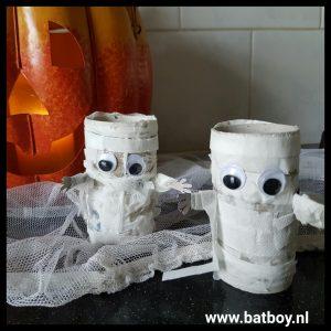halloween mummies maken
