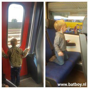 Treinkaartje, trein, reizen, batboy, kinderen