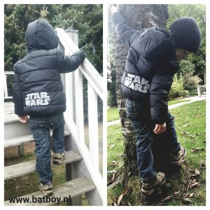 star wars, winter, jas, winter jas, batboy, jongens, jas, c&a, winterkleding, star wars winterjas