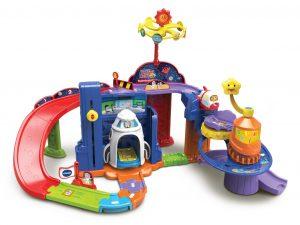 ruimtestation, ruimteschip, vtech, toet toet auto's, jongens, speelgoed, batboy