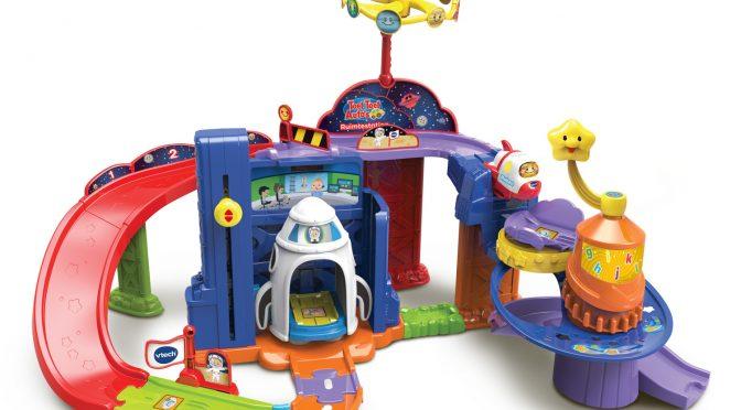 ruimtestation, ruimteschip, vtech, toet toet auto, jongens, speelgoed, batboy