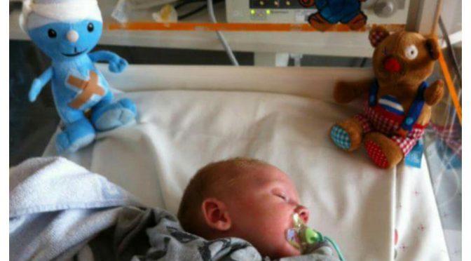 Maagaandoening bij baby's; Pylorushypertrofie