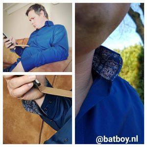 strijkvrij, overhemd, hemd voor hem, batboy, mannen
