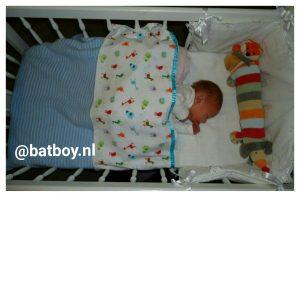 baby, slapen, wieg, ledikant, batboy