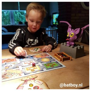 batboy, ravensburger, flo fladder muis, vleermuis, bordspel, gezelschapsspel