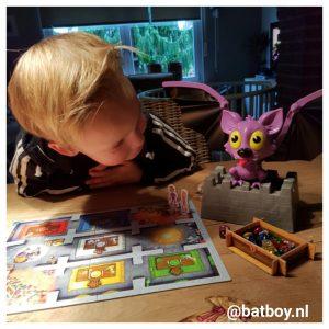 ravensburger, batboy, vleermuis, flo fladder muis, kinderen, spel, bordspel