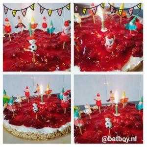 monchoutaart maken, monchou, taart, batboy, verjaardag, verjaardagstaart