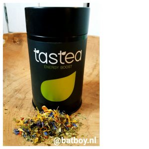 tastea thee voor energy, thee, energie, energy boost, batboy, tastea thee waar je energie van krijgt