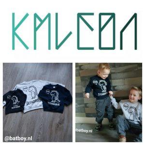 kmleon, batboy, trui, kleding, jongenskleding, dinosaurus