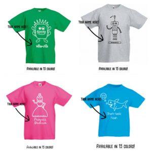 batboy, kmleon, kinderkleding met naam, t-shirts
