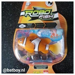 robotvis, robot, vis, vissenkom, action, water, batboy, batterijen