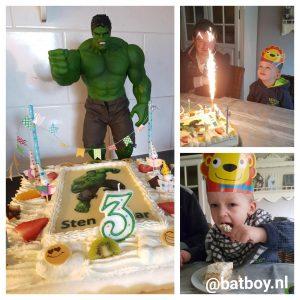 verjaardag, batboy, feestje, verjaardagsfeestje