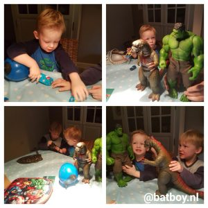 verjaardag, cadeaus, hulk