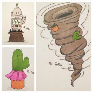 nieuws, mr cactus, tekenen, tekeningen
