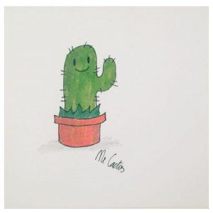 mr cactus, cactus, tekenen, tekening maken