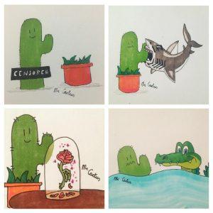nieuws, mr cactus, tekenen, tekeningen, cactus