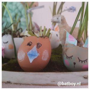paasbakje, eieren, eieren uitblazen, diy