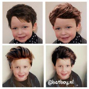 jongens kapsels, kapsels voor jongens, lang of kort, naar de kapper