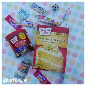 citroentaart met chocolade, candyonline de snoepspecialist, batboy, een lekker pakketje