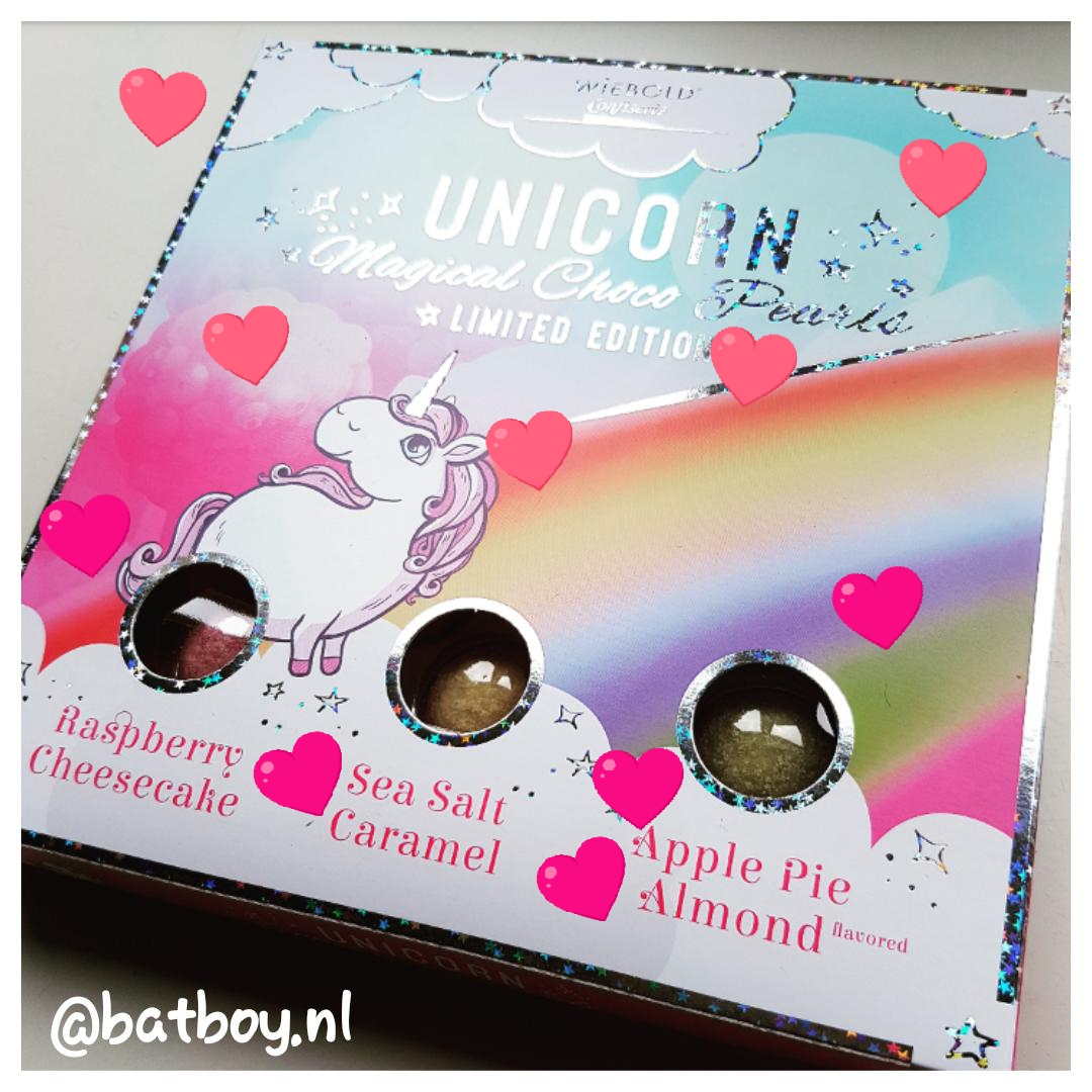 winactie, unicorn magical choco pearls