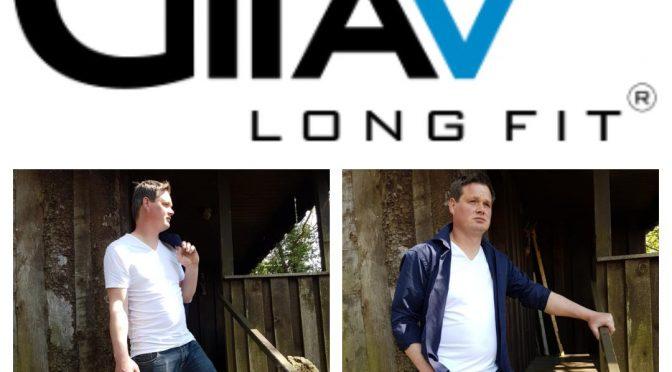 Lange t-shirts voor lange mannen