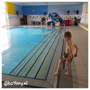 batboy, zwemles in duitsland, de eerste les, batboy