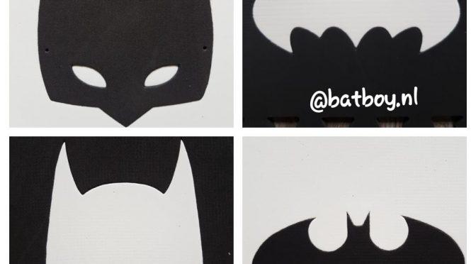 Een stoere zwart wit speelmat van Batman