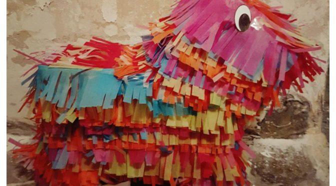 Een piñata maken