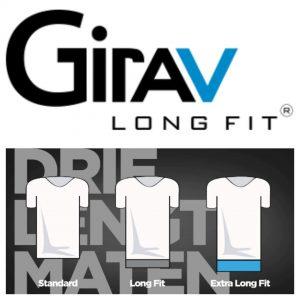 girav, batboy, girav extra lange T-shirts voor lange mannen