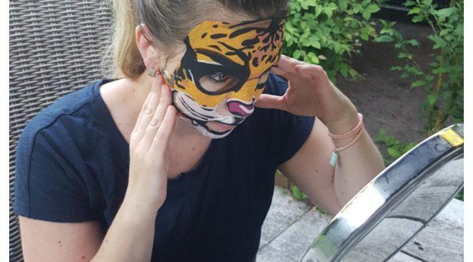 Bioaqua gezichtsmasker met een knipoog