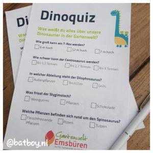 dinosaurussen, batboy, gartenwelt emsburen
